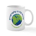 'Geography is my World' Mug