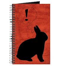 Evil Plot Bunny Blank Journal