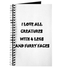 I LOVE ALL CREATURES Journal