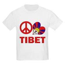 Peace Love Tibet T-Shirt
