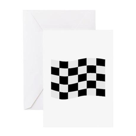 Race Flag Greeting Card