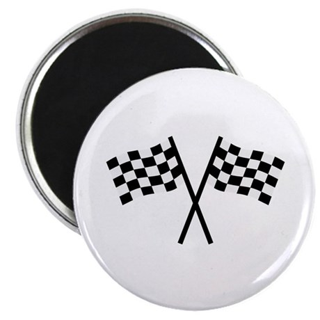 "Racing flags 2.25"" Magnet (100 pack)"