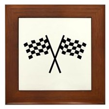 Racing flags Framed Tile