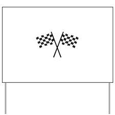 Racing flags Yard Sign