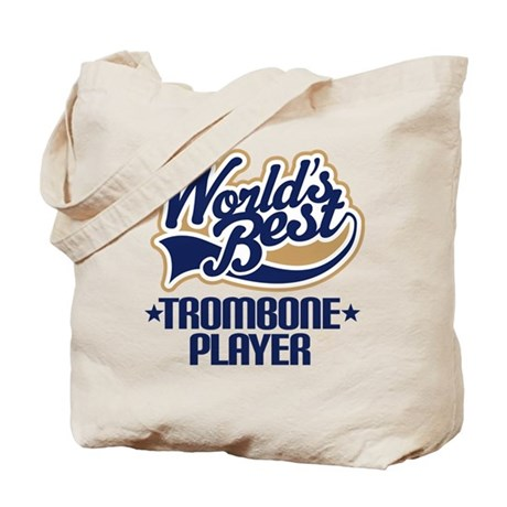 Worlds Best Trombone Tote Bag