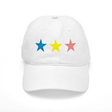 Colored Stars Baseball Cap