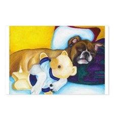 Boxer and Teddy Postcards (Package of 8)
