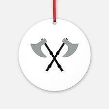 Ax - Axe Ornament (Round)