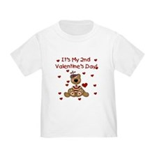 2nd Valentine's Boy Bear T