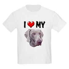 I Love My Weimer T-Shirt