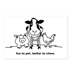 Fun to Pet Postcards (Package of 8)