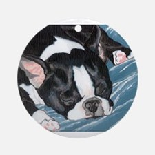 Lily's Nap Ornament (Round)