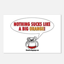 Nothing Sucks Like a Big O Postcards (Package of 8