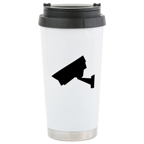 Camera Stainless Steel Travel Mug