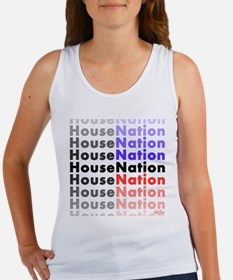 House Nation on white png Tank Top