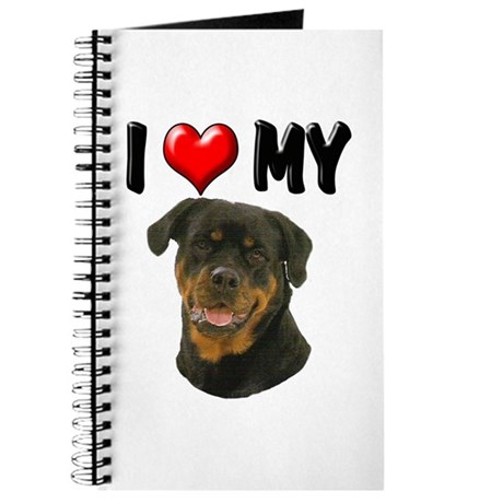 I Love My Rottweiler Journal