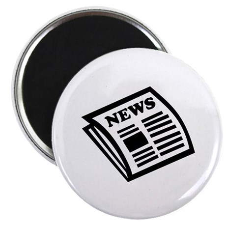 "Newspaper 2.25"" Magnet (100 pack)"