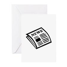 Newspaper Greeting Cards (Pk of 10)