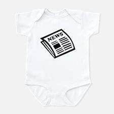 Newspaper Infant Bodysuit