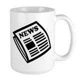 Newspaper Large Mugs (15 oz)