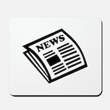 Newspaper Mousepad