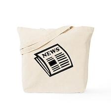 Newspaper Tote Bag