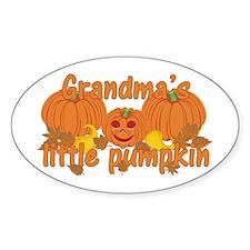 Grandma's Little Pumpkin Decal