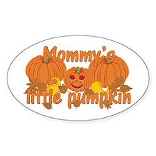 Mommy's Little Pumpkin Decal
