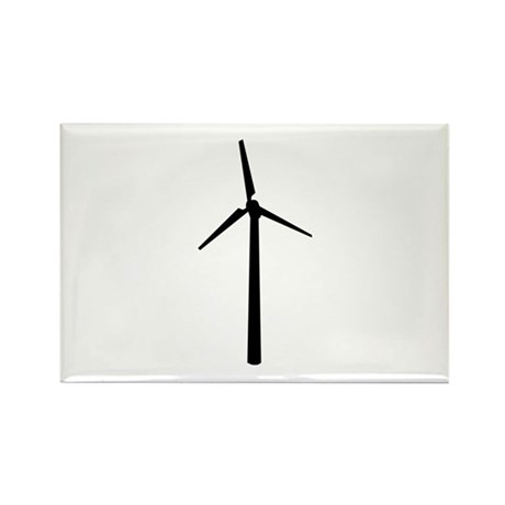 Wind wheel Rectangle Magnet (10 pack)