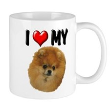 I Love My Pomeranian Mug