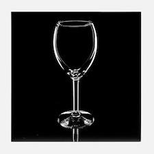 Wine Glass Tile Coaster