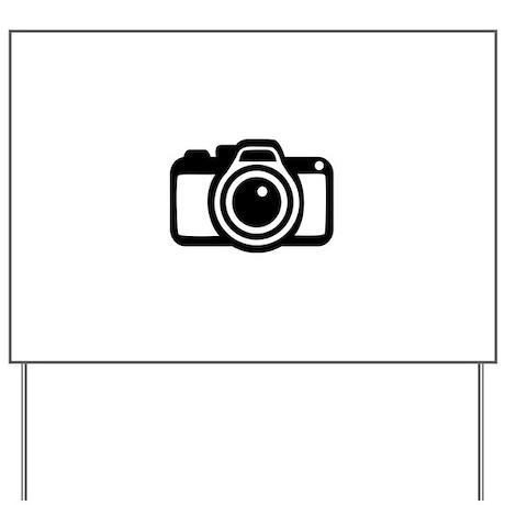 Camera Yard Sign