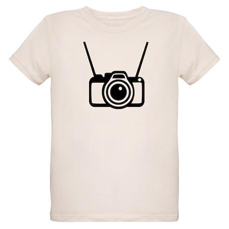 Camera Organic Kids T-Shirt