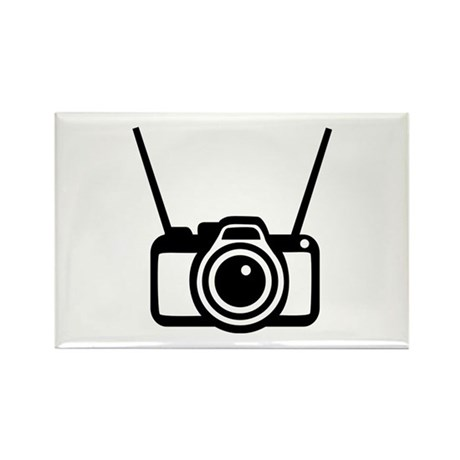 Camera Rectangle Magnet (10 pack)