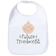 Cute Trombonist Bib