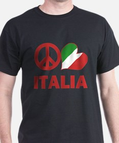 Peace Love Italy T-Shirt