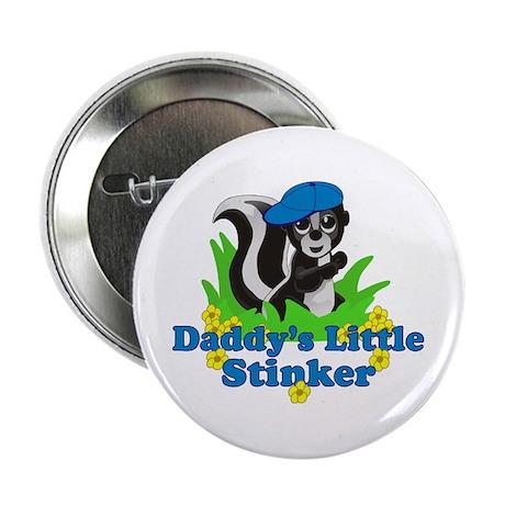 """Daddy's Little Stinker Boy 2.25"""" Button"""