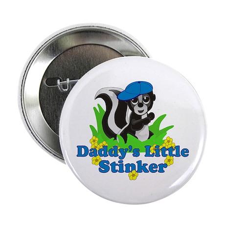"Daddy's Little Stinker Boy 2.25"" Button (10 pack)"
