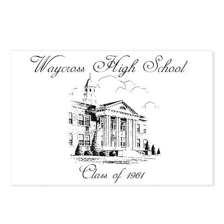 Waycross High School Postcards (Package of 8) by winstonwillis