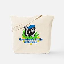Grandma's Little Stinker Boy Tote Bag
