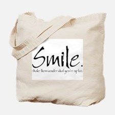 Smile Tote Bag