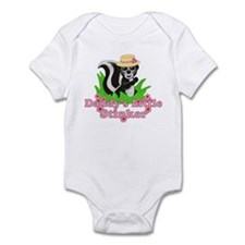 Daddy's Little Stinker Girl Infant Bodysuit