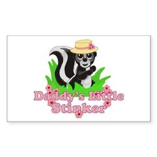Daddy's Little Stinker Girl Decal