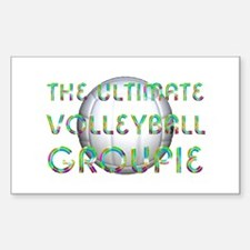 Volleyball Groupie Decal