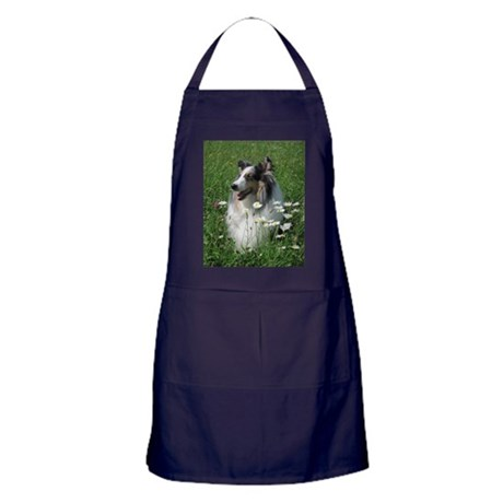 Blue Merle Apron (dark)