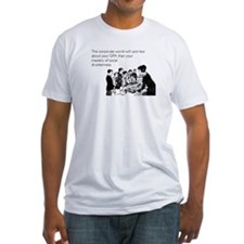 Social Drunkenness Fitted T-Shirt