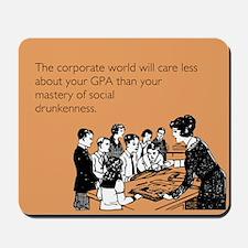 Social Drunkenness Mousepad
