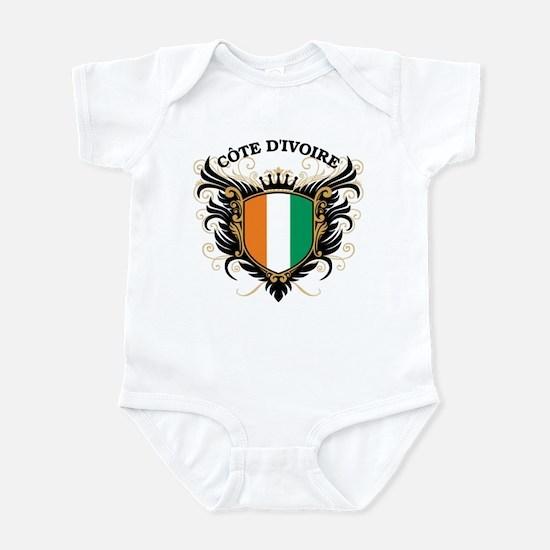 Ivory Coast Infant Bodysuit