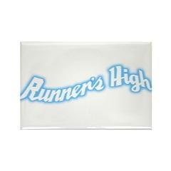 Runner's High Rectangle Magnet
