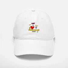 I Heart Interjections Baseball Baseball Cap